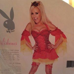 Excellent quality Playboy Devilishous Costume